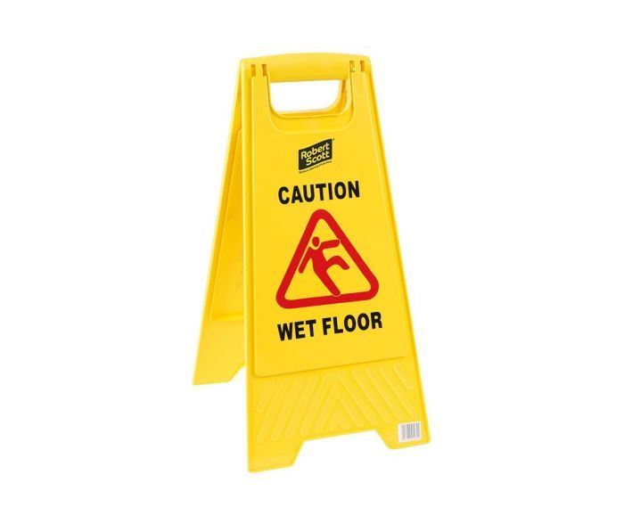 ROBERT SCOTT WET FLOOR SIGN