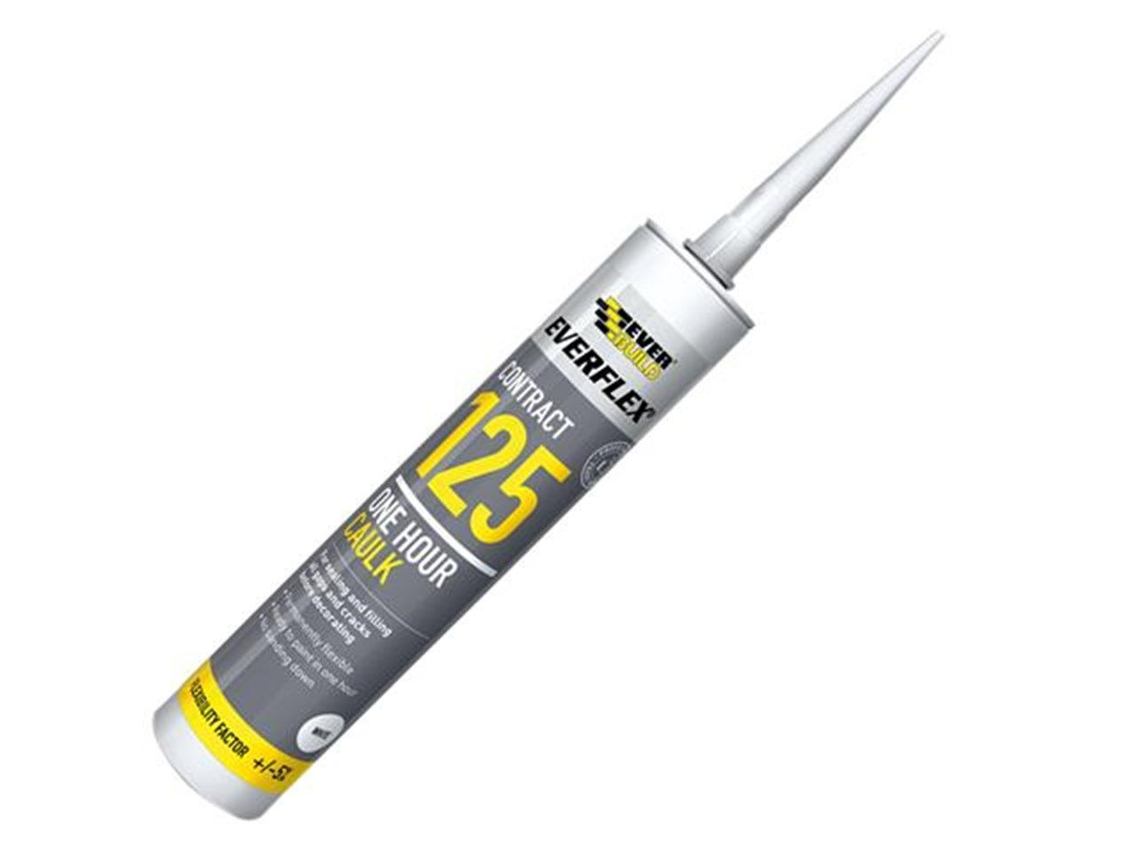 EVERBUILD 125 CAULK WHITE C4 1 HOUR