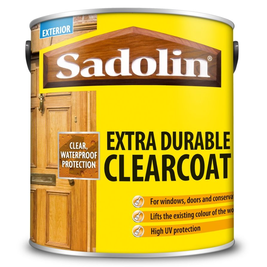 SADOLIN EXTRA DURABLE CLEARCOAT - CLEAR GLOSS VARNISH