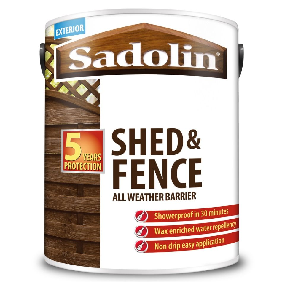 SADOLIN SHED AND FENCE