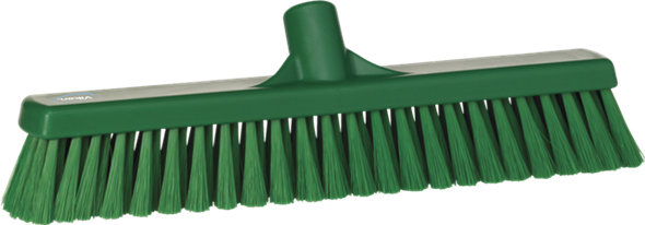 VIKAN BROOM 410MM SOFT - GREEN